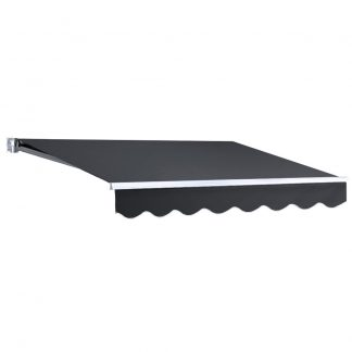 Instahut Retractable Outdoor Arm Awning 2 x 1.5M - Grey
