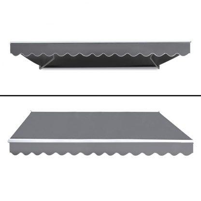 Instahut 3M x 2.5M Outdoor Folding Arm Awning - Pegru