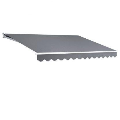 Instahut 4M x 3M Outdoor Folding Arm Awning - Pegru