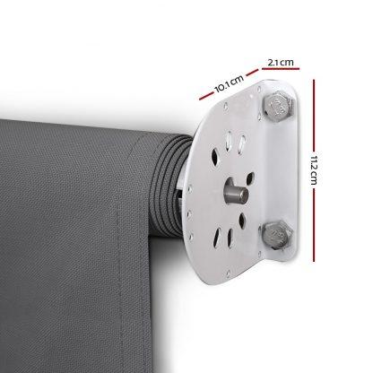 Instahut 3.1X 2.1 M Retractable Fixed Pivot Arm Window Awning Garden Blinds