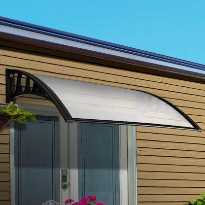 Instahut 1X1.2M Window Door Awning Canopy Rain Cover Sun Shield