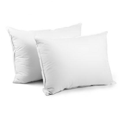 Giselle Bedding Set of 2 Duck Down Pillow - White