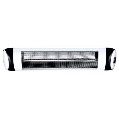 Devanti Electric Radiant Strip Heater Indoor Outdoor Infrared Patio Heaters Remote Control 2500W