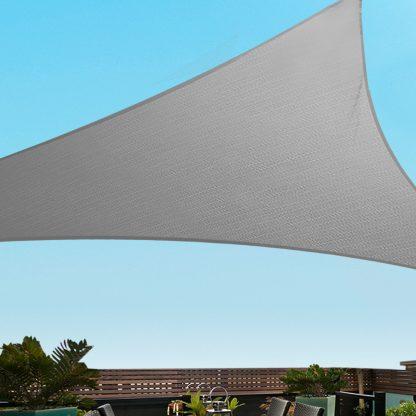 Instahut Sun Shade Sail Shadecloth Outdoor 280gsm 5x5x5m