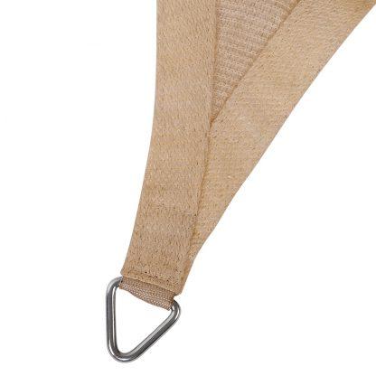 Instahut Shade Sail Cloth Rectangle Shadesail Heavy Duty Sand Sun Canopy 3x5m