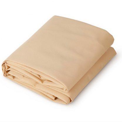 Instahut 2.5 x 3m Rectangle Shade Sail Cloth - Sand Beige