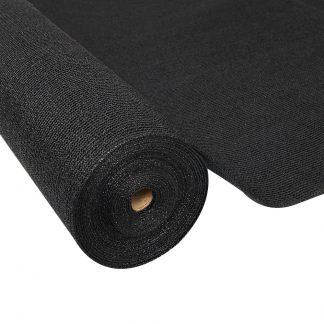 Instahut 50% Sun Shade Cloth Shadecloth Sail Roll Mesh 1.83x20m 100gsm Black
