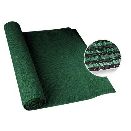 Instahut 50% Sun Shade Cloth Shadecloth Sail Roll Mesh 1.83x20m 100gsm Green