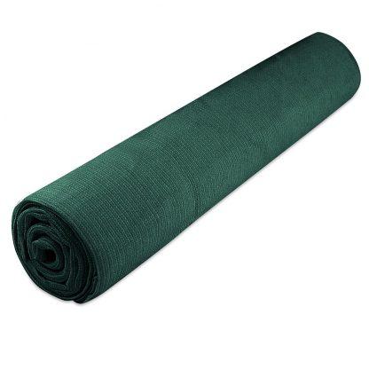 Instahut 50% UV Sun Shade Cloth Shadecloth Sail Roll Mesh Garden Outdoor 1.83x30m Green