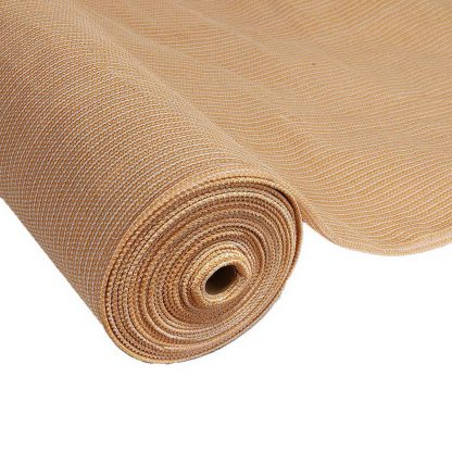 Instahut Sun Shade Cloth Shadecloth Sail Roll Mesh Outdoor 70% UV 1.83x30m Beige