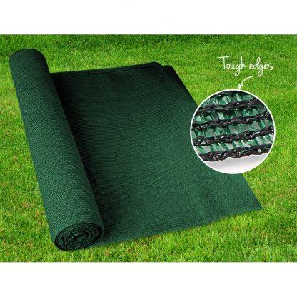 Instahut 90% Sun Shade Cloth Shadecloth Sail Roll Mesh 1.83x30m 195gsm Green