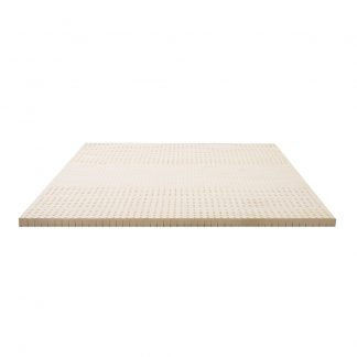 Giselle Bedding Pure Natural Latex Mattress Topper 7 Zone 5cm Queen