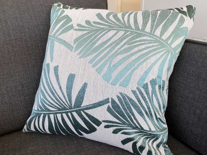 Cotton Linen Tropical Palm Cushion Covers 2pcs Pack