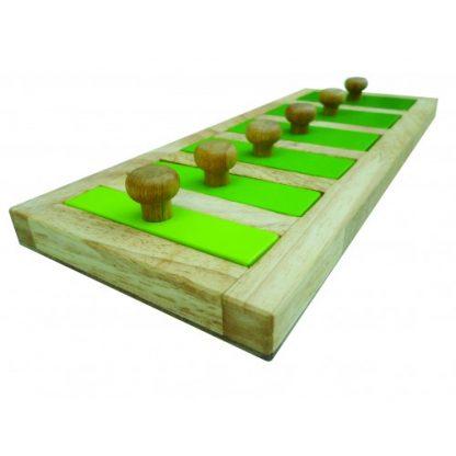 Narrow-Wide Knob Puzzle