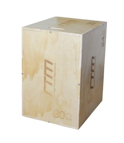 3 IN 1 Wood Plyo Games Plyometric Jump Box