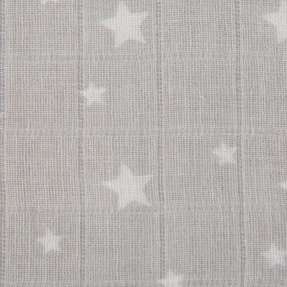 Cuddleco Muslins - Grey Star