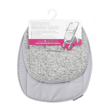 Universal Stroller Liner - Grey Marl