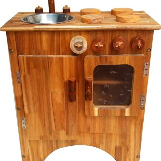Combo Wooden Stove and Sink