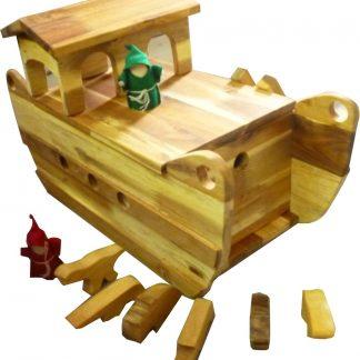 Wooden Noah Boat