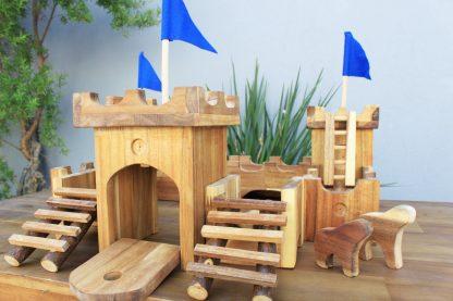 Wooden Medieval Castle