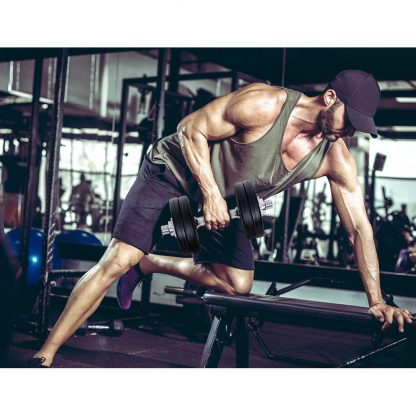 Everfit Fitness Gym Exercise Dumbbell Set 15kg