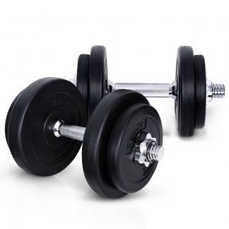 Everfit Fitness Gym Exercise Dumbbell Set 20kg