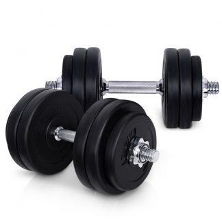 Everfit Fitness Gym Exercise Dumbbell Set 30kg
