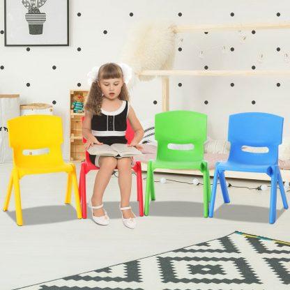 Keezi Set of 4 Kids Play Chairs