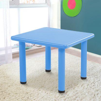 Keezi Kids Table Study Desk Children Furniture Plastic Blue