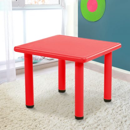 Keezi Kids Table Study Desk Children Furniture Plastic Red