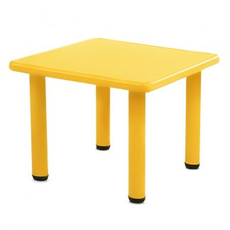 Keezi Kids Table Study Desk Children Furniture Plastic Yellow