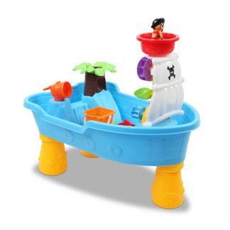 Keezi 20 Piece Kids Pirate Toy Set - Blue