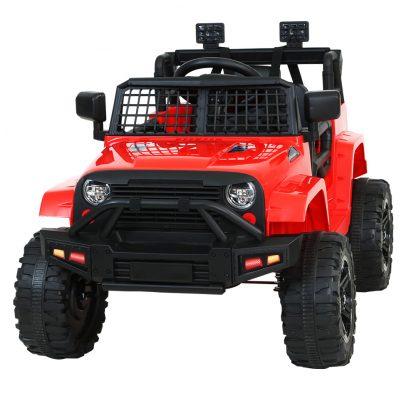 Rigo Kids Ride On Car Electric 12V Car Toys Jeep Battery Remote Control Red