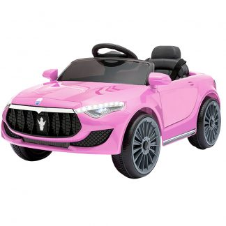 Rigo Maserati Kids Ride On Car - Pink