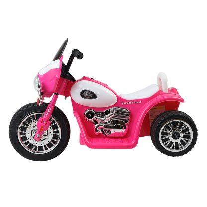 Rigo Kids Ride On Motorbike Motorcycle Toys Pink