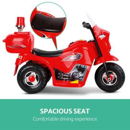Rigo Kids Ride On Motorbike Motorcycle Car Red