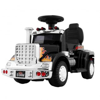 Ride On Cars Kids Electric Toys Car Battery Truck Childrens Motorbike Toy Rigo Black