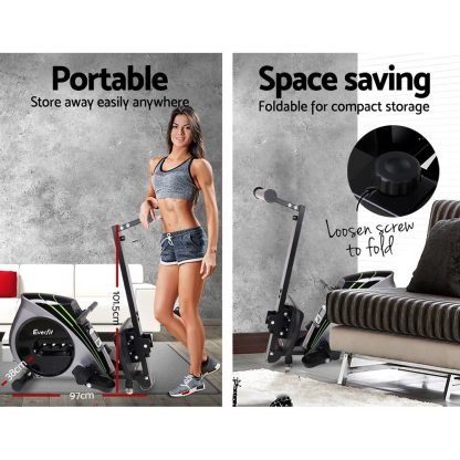 Everfit Rowing Exercise Machine Rower Resistance Home Gym