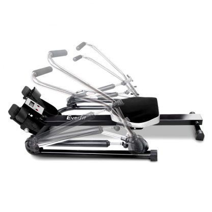 Everfit Rowing Exercise Machine Rower Hydraulic Resistance Fitness Gym Cardio