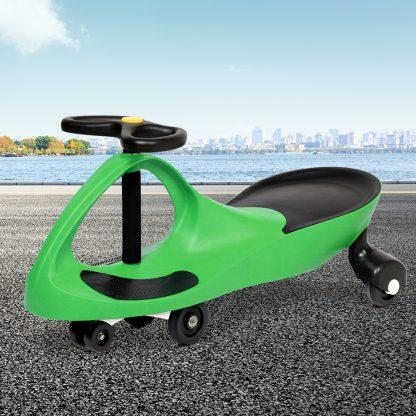 Keezi Kids Ride On Swing Car -Green
