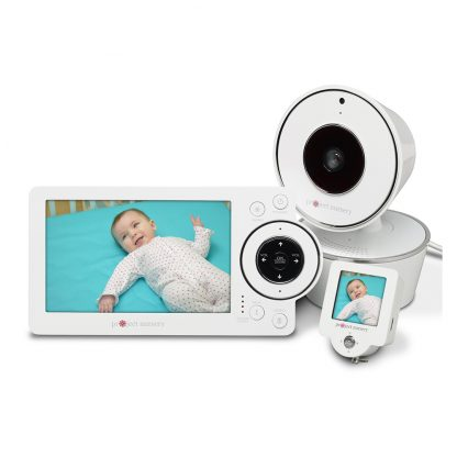 """5"""" HD Video Baby Monitor with Mini Monitor"""