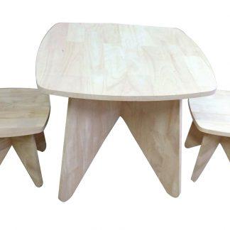 Retro Kid table and stool set