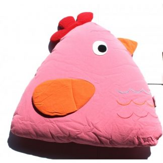 Chick Cuddling Cushion(15x18x35 Cm) Pink