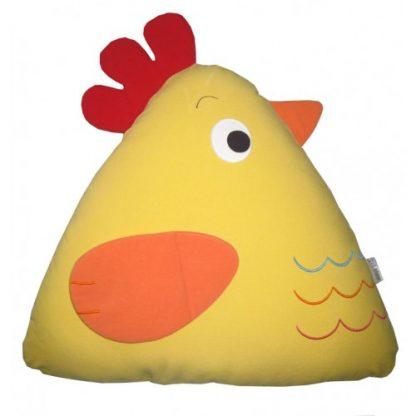Chick Cuddling Cushion(15x18x35 Cm) Yellow