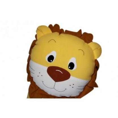 Lion Cuddling Cushion