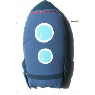 Roket Cuddling Cushion Blue