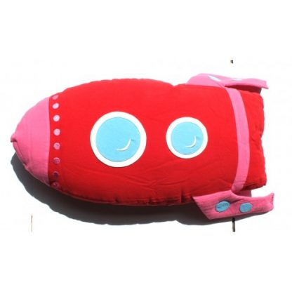 Roket Cuddling Cushion Red