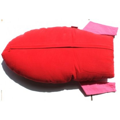 Roket Cuddling Cushion Red