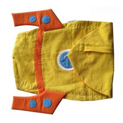 Roket Cuddling Cushion Yellow