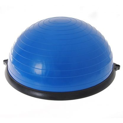 Gym Balance Core Ball with Resistance Strap